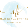 Logotipo Mar Blava Events - By Marga Moyá